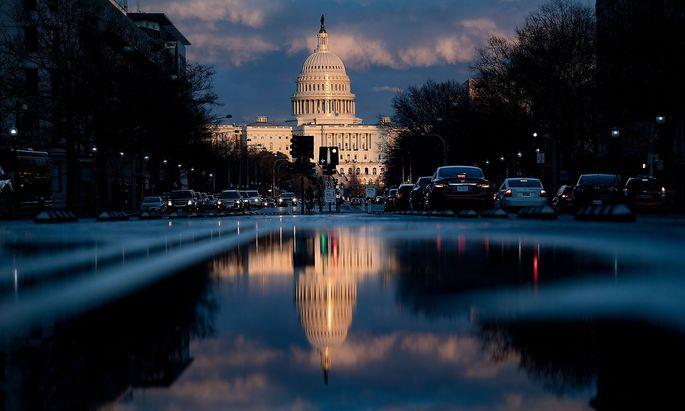 Im Kapitol in Washington stößt der noch unveröffentlichte Bericht von Robert Mueller auf großes Interesse.