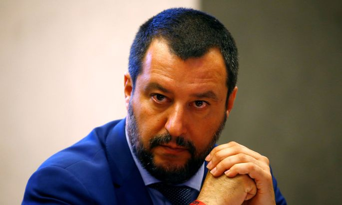 Innenminister Matteo Salvini wird Amtsmissbrauch und Freiheitsberaubung vorgeworfen
