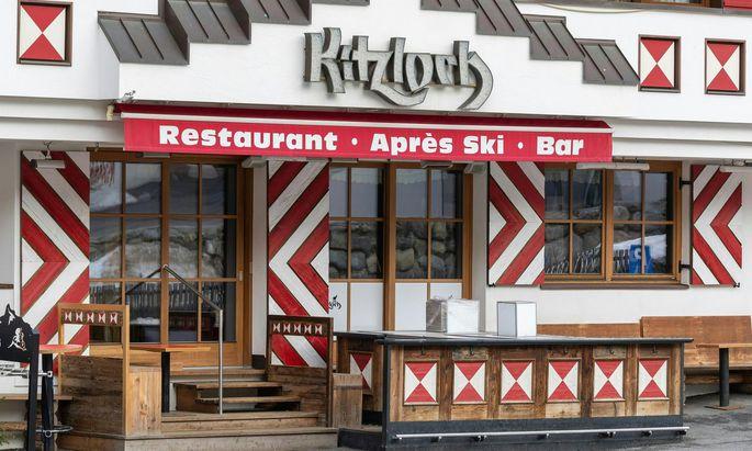 Die betroffene Bar, Kitzloch.