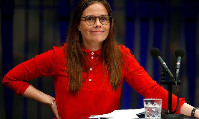 Katrin Jakobsdottir sieht keinen Grund, ihren Terminplan für den US-Vizepräsidenten zu ändern.
