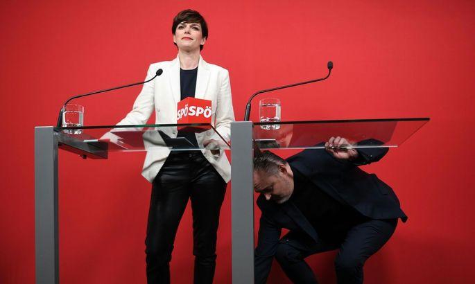 "SPÖ-Chefin Pamela Rendi-Wagner will ""Hans Peter Doskozils destruktiver Art keinen Millimeter weichen""."