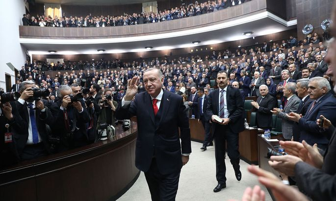 Präsident Recep Tayyip Erdogan.