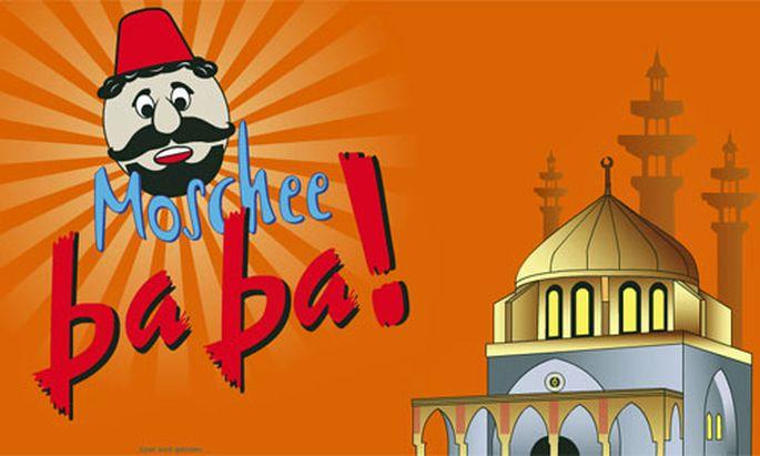Moschee baba Gruene zeigen