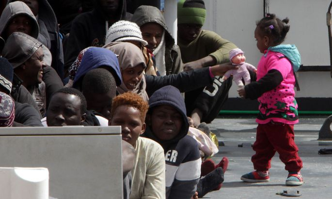 ITALY-IMMIGRATION-REFUGEE-RESCUE-SEA-Object-name ITALY-MIGRANTS-