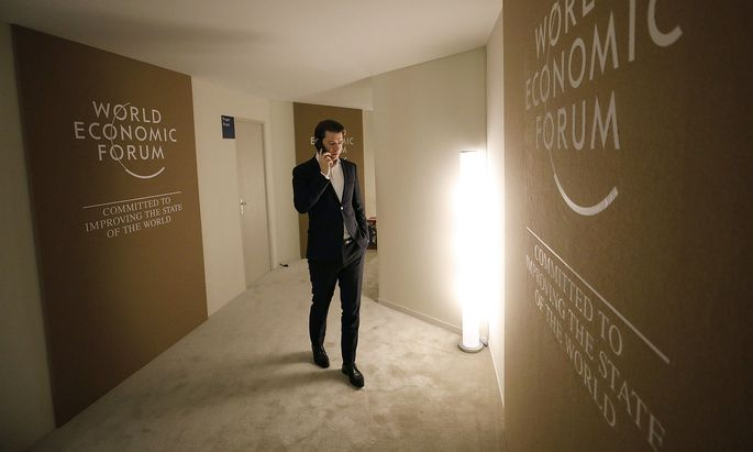 Kanzler Kurz rief Innenminister Kickl aus Davos an.