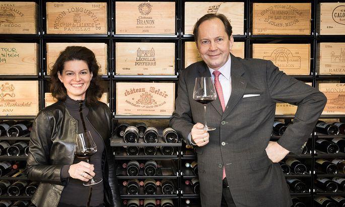 Paarlauf. Andrea und Berndt May haben gemeinsam die Weinakademie in Rust besucht.