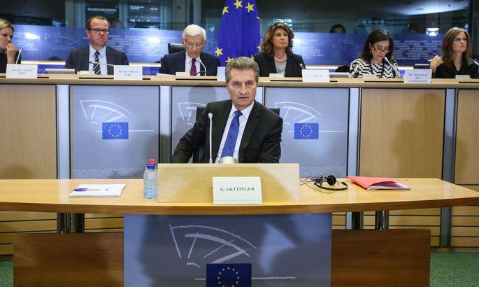 BELGIUM EU PARLIAMENT NEW COMMISSIONERS