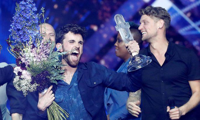 """Wer hat den letzten """"echten"""" Song Contest gewonnen? Duncan Laurence für die Niederlande. Auf ProSieben wird dem abgesagten Großevent nun Konkurrenz gemacht."""