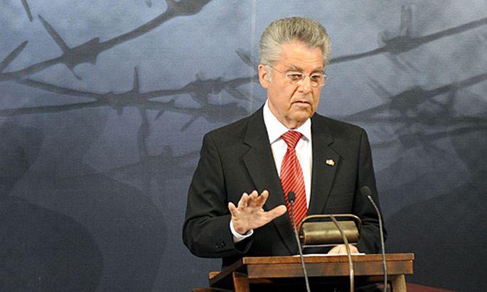 Bundespräsident Heinz Fischer