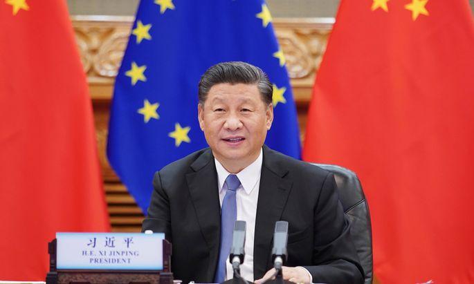 Chinas Staats- und Parteichef, Xi Jinping, wünscht sich eine möglichst gespaltene Europäische Union.