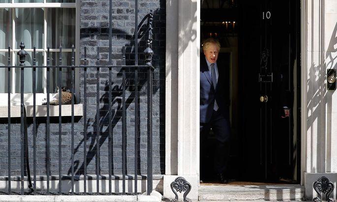 Boris Johnson spekuliert darauf, dass die Angst der EU vor einem Hard Brexit zu groß wird.
