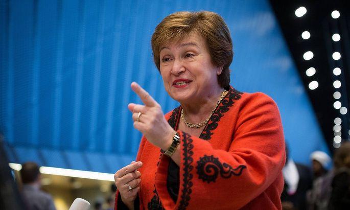 December 3 2018 Katawice Silesia Poland Kristalina Georgiewa chief executive officer of the