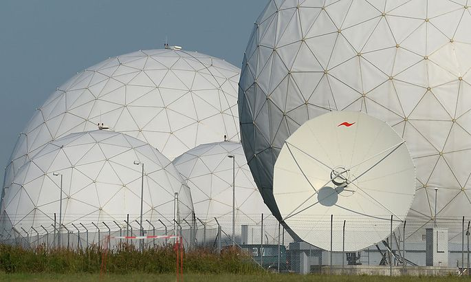 Ehemalige NSA-Abhoerstation Bad Aibling