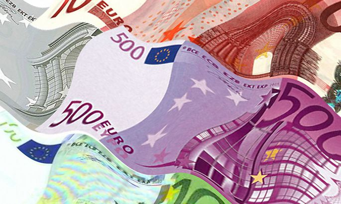 Euroscheine - Euro bank notes