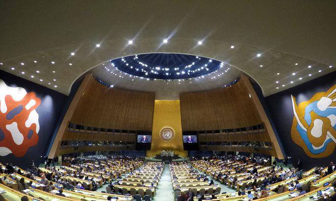 Symbolbild: UNO-Vollversammlung in New York