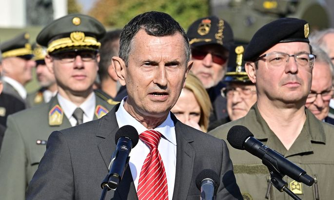 Verteidigungsminister Thomas Starlinger