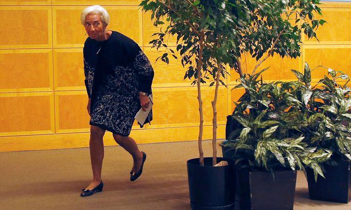 """EZB-Präsidentin Christine Lagarde sucht seit ihrem Antritt eine """"grüne"""" Strategie für die Zentralbank. Mit der Realität stimmt diese noch nicht überein"""