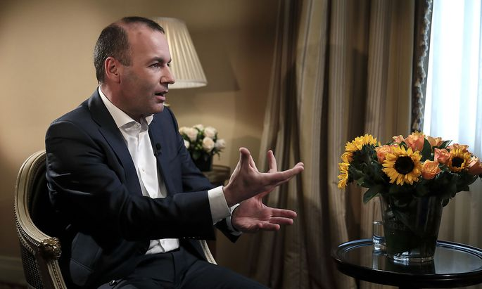 Manfred Weber Spitzenkandidat der europäischen Christdemokraten
