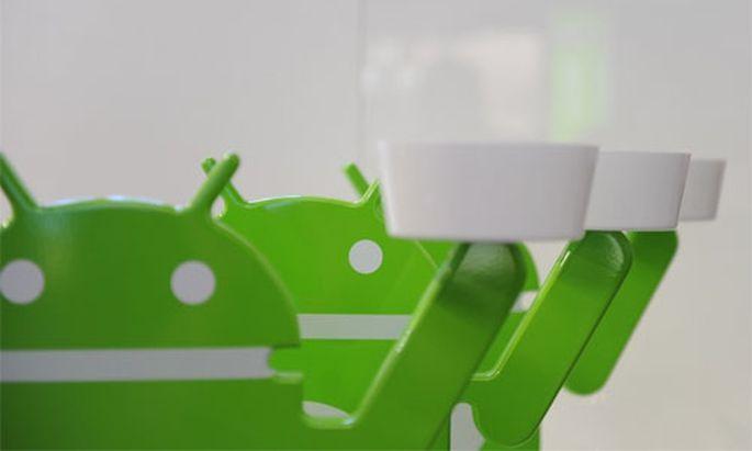 Android Market Prozent Wachstum