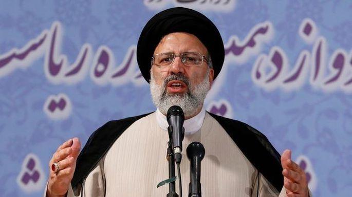 Präsidentschaftskandidat Raissi.
