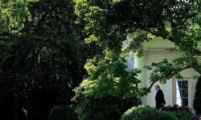 Der Präsident eröffnet eine neue Front im Handelskrieg und knüpft Zölle an ein politisches Motiv.