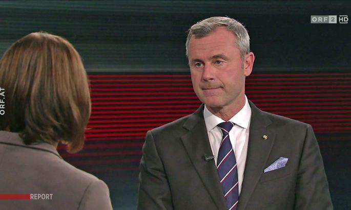 Susanne Schnabl interviewte Norbert Hofer.