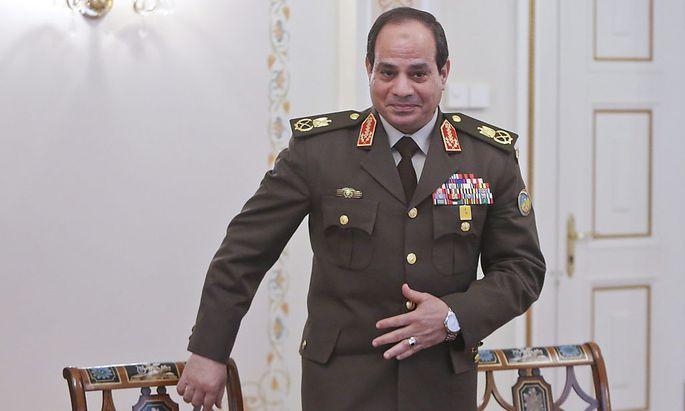 Abdel Fattah al-Sisi will für das Präsidentenamt in Ägypten kandidieren.