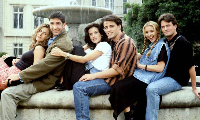 FRIENDS, Jennifer Aniston, David Schwimmer, Courteney Cox Arquette, Matt LeBlanc, Lisa Kudrow, Matthew Perry, (Season 1)