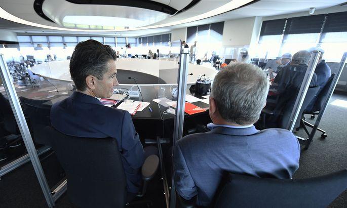 Roland Weißmann (l.) übernimmt ab 2022 die Führung des ORF.