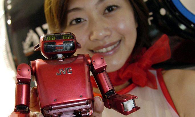 Mensch Roboter eingespieltes Team