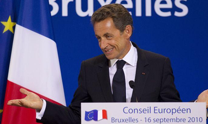Nicolas Sarkozy sich eine