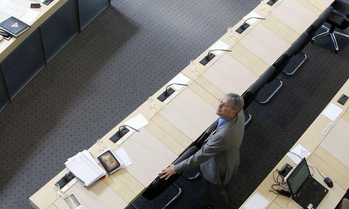Symbolbild: Landeshauptmann Kaiser im Kärntner Landtag