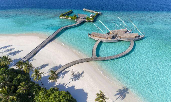 Milaidhoo Island hat im August ein VIP-Paket samt Anreise geschnürt.