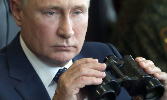 Russlands Staatschef Wladimir Putin.