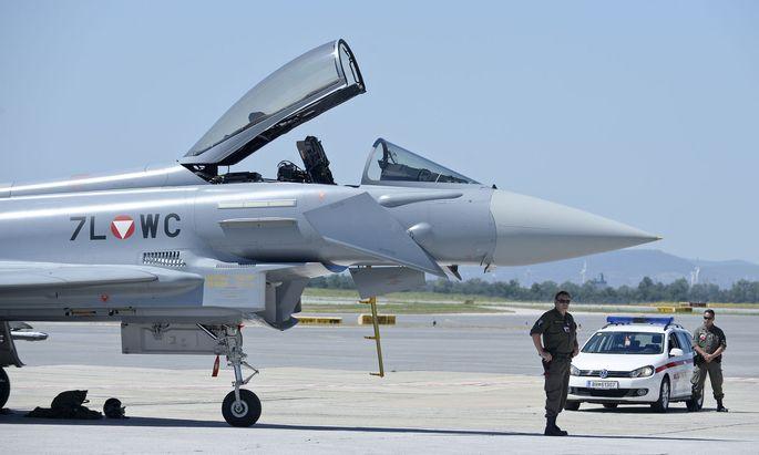 Bleiben die Eurofighter künftig am Boden?