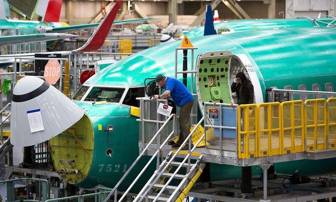 Archivbild. Die Airlines rechnen teils mit längeren Ausfällen der Boeing 737-Max-Maschinen.