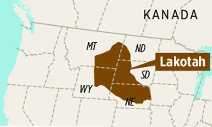 Lakotah, eines der Länder, die es nicht gibt.
