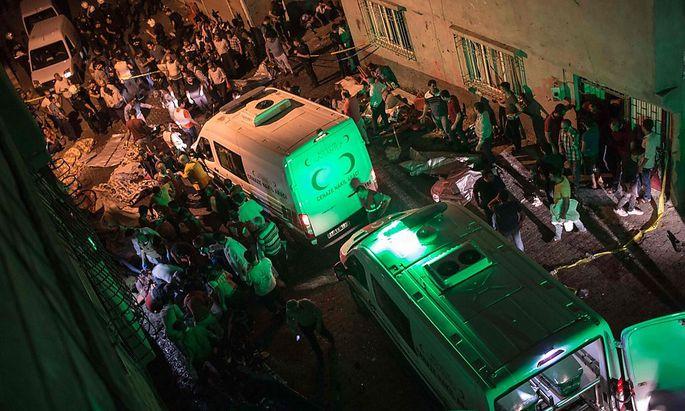 Für mindestens 50 der Opfer kam jede Hilfe zu spät