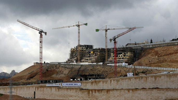 Der gestoppte Siedlungsbau in Ostjerusalem wird fortgesetzt.