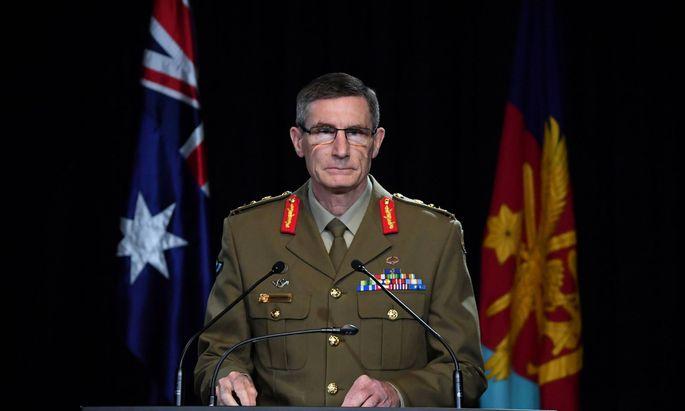 Angus Campbell, Chef der australischen Verteidigungsstreitkräfte, veröffentlicht einen Bericht zum Verhalten australischer Soldaten im Afghanistan-Krieg.