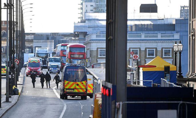 Nach Messer-Angriff auf London Bridge: Terrorverdächtiger festgenommen