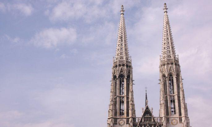 Die Türme der Votivkirche