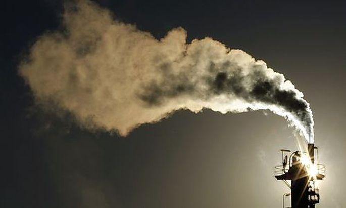 CO2Ausstoss stark gestiegen zuvor