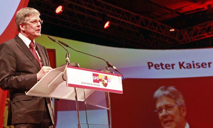 Peter Kaiser Kaerntner SPoeObmann
