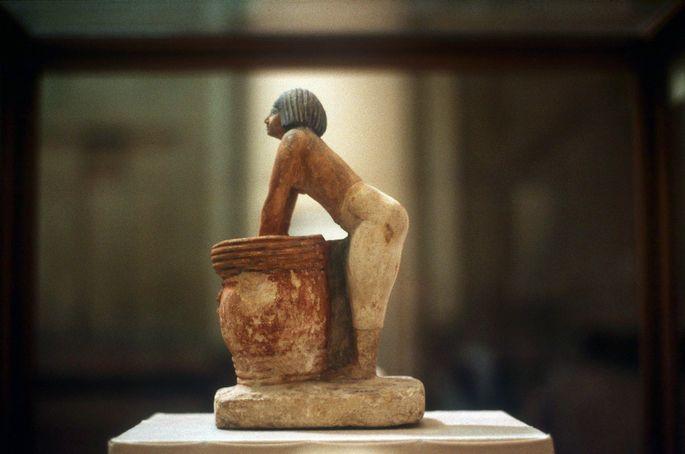 Bierbrauer im alten Ägypten