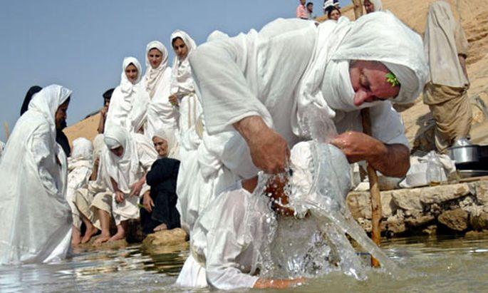 Mandaean Sabian followers
