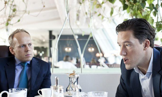Ronald Stoeferle und Mark Valek