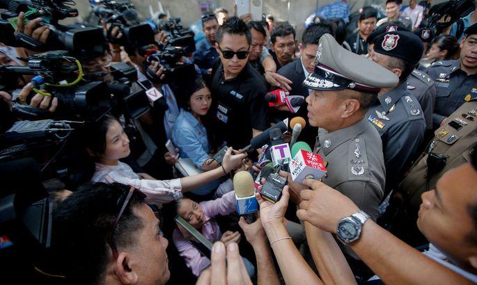 THAILAND BANGKOK BOMBING