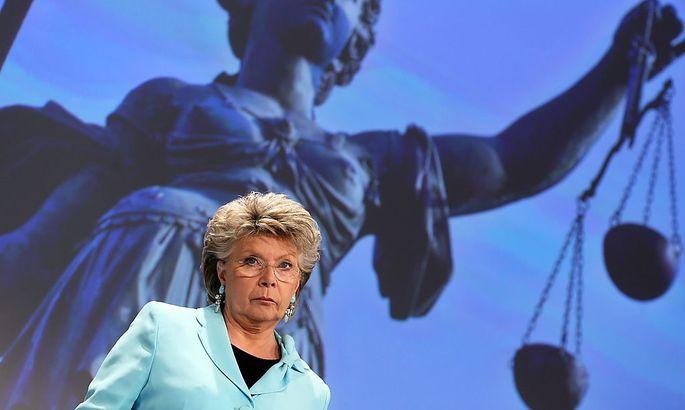Eine Freundin klarer Worte: EU-Justizkommissarin Viviane Reding