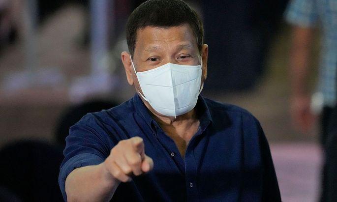 Der Präsident der Philippinen, Rodrigo Duterte.
